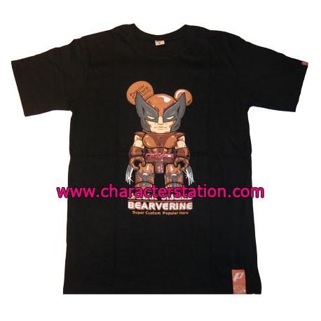 Figurine T-shirt Bearverine Brown T-Shirts Geneve