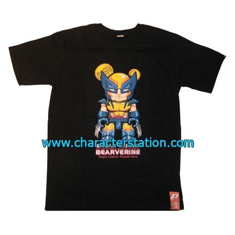 T-shirt Bearverine Yellow