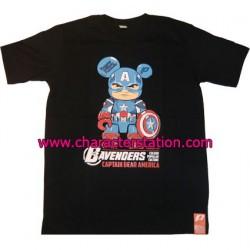 T-shirt Captain Bear America