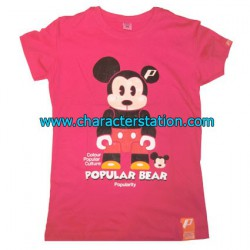 Figur T-shirt Micky Bear Geneva Store Switzerland