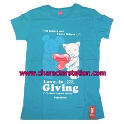 T-shirt Love is Giving Bear