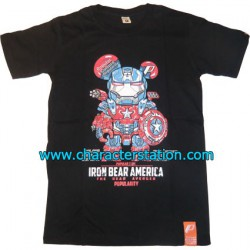 Figur T-shirt Iron Bear America Geneva Store Switzerland