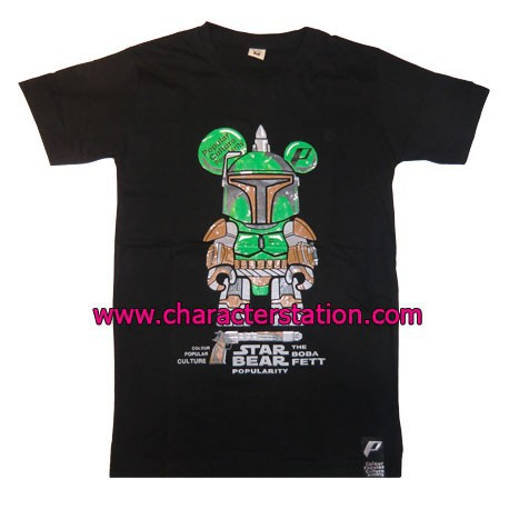 Figur T-shirt Boba Fett Bear Geneva Store Switzerland