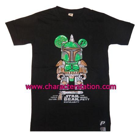 Figuren T-shirt Boba Fett Bear Genf Shop Schweiz