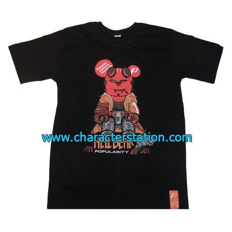 Figur T-shirt Hell Bear Geneva Store Switzerland
