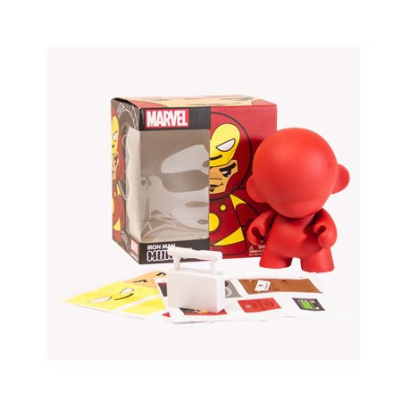 Figurine Munny Marvel : Ironman (17 cm) Kidrobot Boutique Geneve Suisse