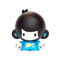 Figuren Baby Di Di Blau von Veggiesomething Crazy Label Box öffnen Genf