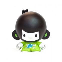 Figuren Baby Di Di Grün von Veggiesomething Crazy Label Box öffnen Genf