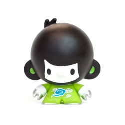 Figurine Baby Di Di Vert par Veggiesomething Crazy Label Boutique Geneve Suisse