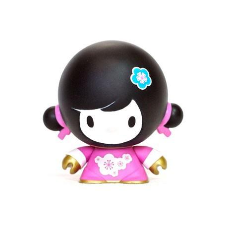 Figurine Baby Mei Mei Rose par Veggiesomething Crazy Label Boîtes ouvertes Geneve