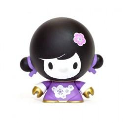Figuren Baby Mei Mei Violet von Veggiesomething Crazy Label Box öffnen Genf