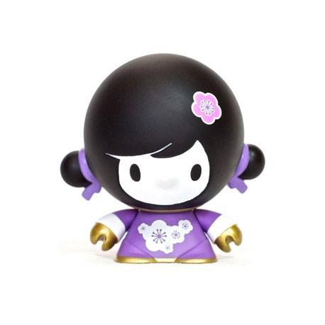 Figur Baby Mei Mei Purple by Veggiesomething Crazy Label Opened box Geneva