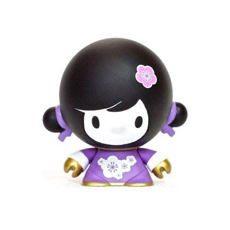 Figurine Baby Mei Mei Violet par Veggiesomething Crazy Label Boutique Geneve Suisse