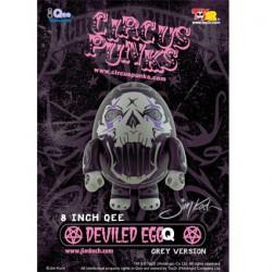 Figurine Qee Egg Deviled Grey (22 cm) Toy2R Boutique Geneve Suisse