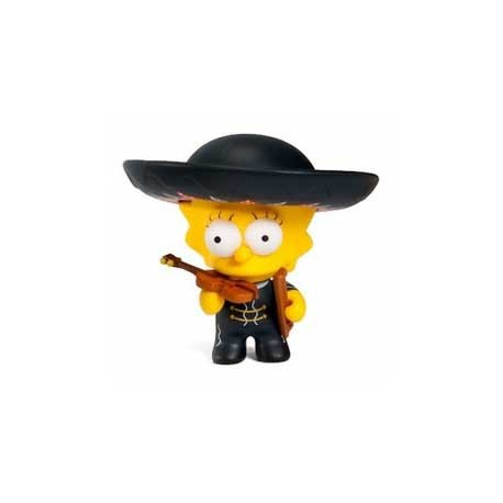 Figurine The Simpsons series 2 : Mariachi Lisa Kidrobot Boutique Geneve Suisse