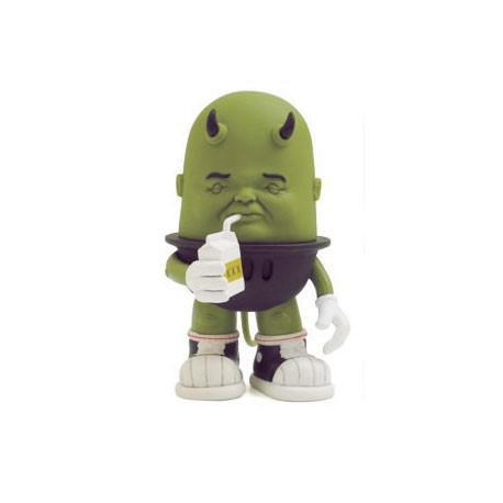 Figuren Luey Drinking Green von Bob Dob Strangeco Grosse Figuren Genf