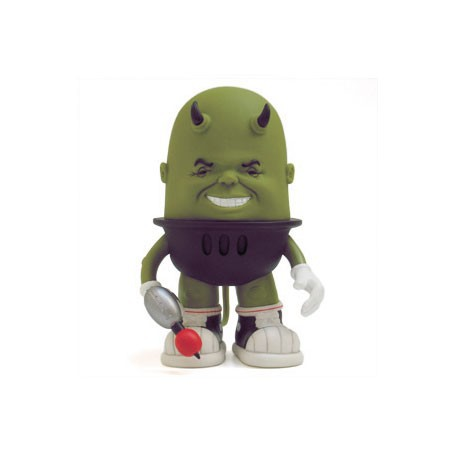 Figurine Luey Raging Green par Bob Dob Strangeco Boutique Geneve Suisse