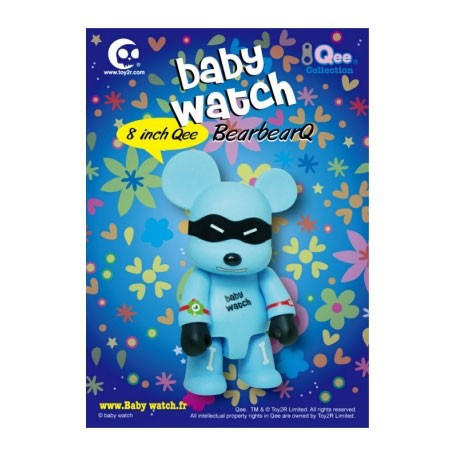 Figur Qee Blue 20 cm by Baby Watch Toy2R Geneva Store Switzerland
