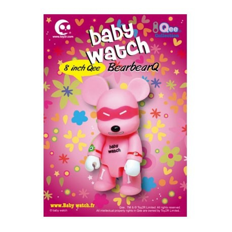 Figur Qee Pink 20 cm by Baby Watch Toy2R Qee Geneva