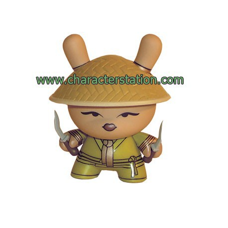 Figur Dunny series 5 Chase by Huck Gee Kidrobot Dunny Rares Geneva