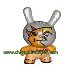 Figuren Dunny Série 4 von Joe Ledbetter Kidrobot Designer Toys Genf