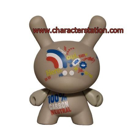 Figurine Dunny série French par Genevieve Gauckler Kidrobot Boutique Geneve Suisse