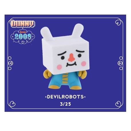 Figur Dunny 2009 by Devilrobots Kidrobot Dunny and Kidrobot Geneva