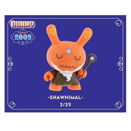 Figur Dunny 2009 by Shawnimal Kidrobot Geneva Store Switzerland