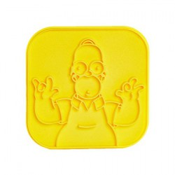 The Simpsons Toast Stamp