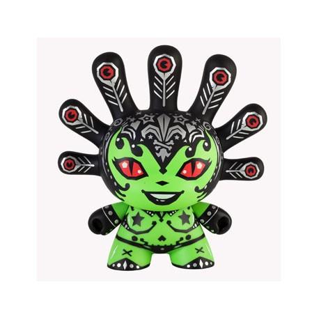 Figur Madam Mayhem Dunny Green Kidrobot Geneva Store Switzerland