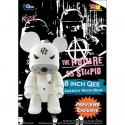 Qee Anarchy Bear White 20 cm by Frank Kozik