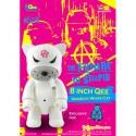 Qee Anarchy Cat White 20 cm by Frank Kozik