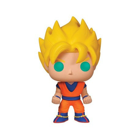 Figurine Pop Anime Dragon ball Z Super Saiyan Goku Funko Boutique Geneve Suisse