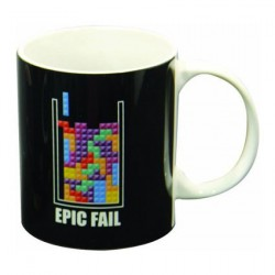 Tetris Epic Fail Mug