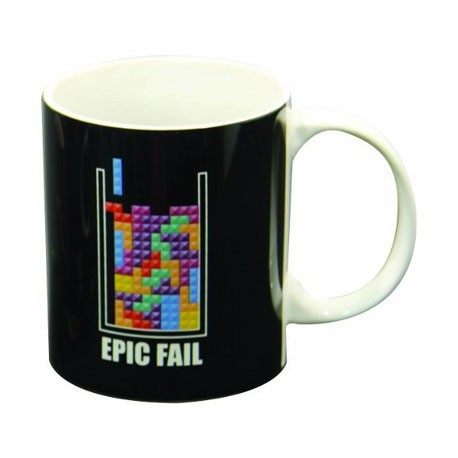 Figur Tetris Epic Fail Mug Games Geneva