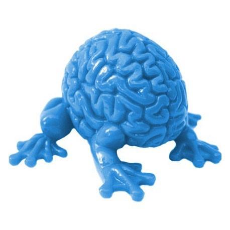 Figur Jumping Brain : Light Blue Toy2R Geneva Store Switzerland