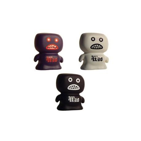 Figuren Wasperghost Weiss, Blau und Schwarz von Wao Wao Toyz Genf Shop Schweiz