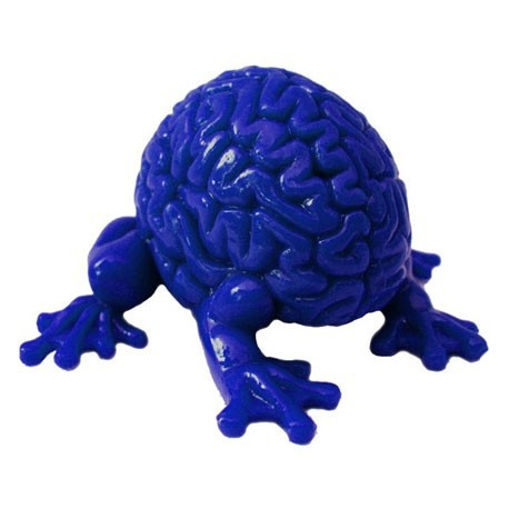 Figur Jumping Brain : Blue Toy2R Geneva Store Switzerland