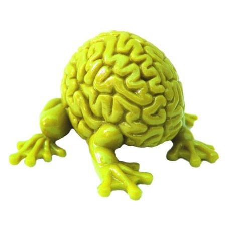 Figur Jumping Brain : Yellow Toy2R Geneva Store Switzerland