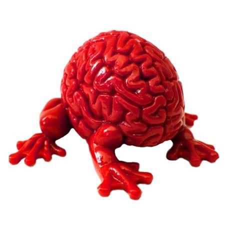 Figur Jumping Brain : Red Toy2R Little Toys Geneva