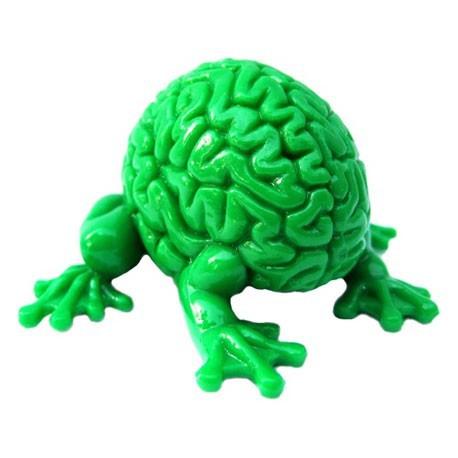 Figurine Jumping Brain : Vert Toy2R Boutique Geneve Suisse