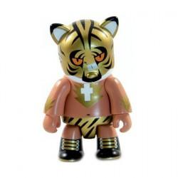 Figurine Qee Mutafukaz Mutafuckaz Tigre par Run777 Toy2R Boutique Geneve Suisse