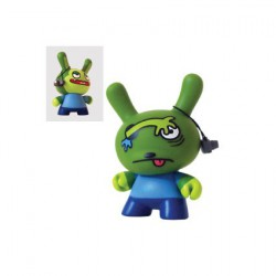 Figurine Dunny série 2 Horvath 4 par David Horvath sans boite Kidrobot Dunny et Kidrobot Geneve