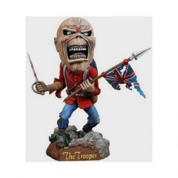 Figurine Iron Maiden Eddie The Trooper Head Knocker Neca Boutique Geneve Suisse