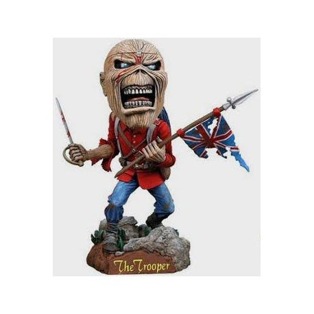 Figurine Iron Maiden Eddie The Trooper Head Knocker Neca Boutique Geneve Suisse