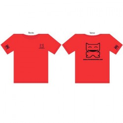 Figuren T-Shirt CS Femme : Rouge (S/36) CharacterStation Genf Shop Schweiz