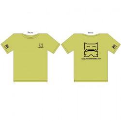 Figur T-Shirt CS Femme : Vert (S/36) CharacterStation Geneva Store Switzerland