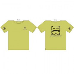 Figurine T-Shirt CS Femme : Vert CharacterStation Boutique Geneve Suisse