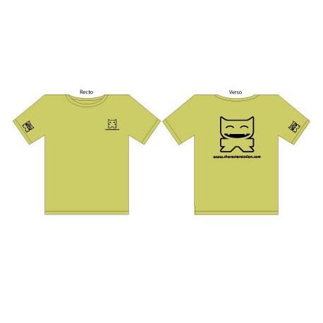 Figuren T-Shirt CS Femme : Vert (S/36) CharacterStation Genf Shop Schweiz