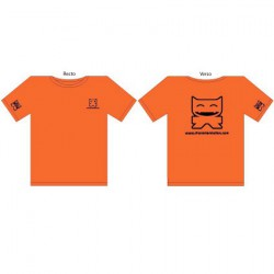 T-Shirt CS Femme : Orange (S/36)